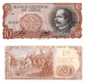 Billet de collection Chili
