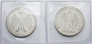 Étuis numismatique double
