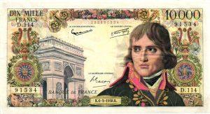 10000 Francs Napoleon Bonaparte