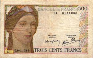 300 francs Serveau