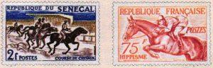 Type de timbres - Le Sport