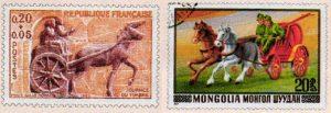 Type de timbres - Les transports