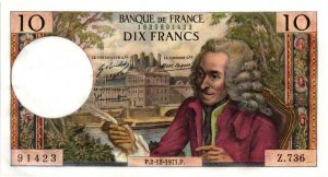 10 Francs Voltaire