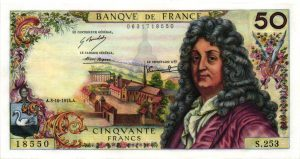 50 Francs Racine Billet de collection