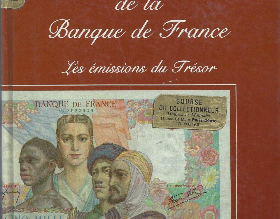 Les billets de la Banque de France