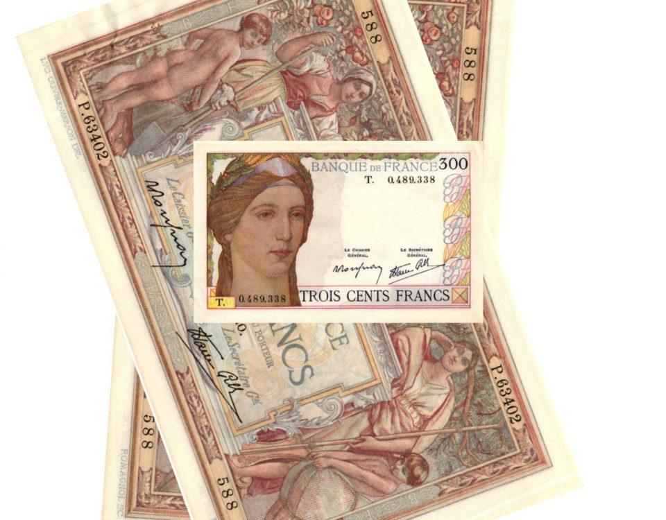 Billet Banque de France