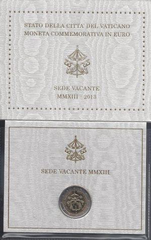 2 euro sede vacante 2013