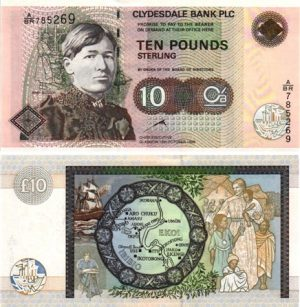 Billet de collection Ecosse