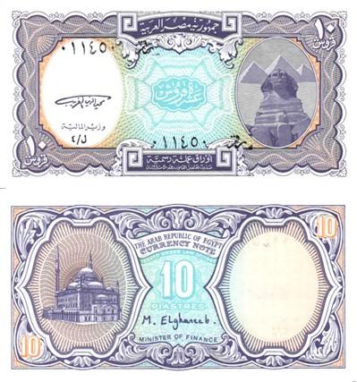 Billet de collection Egypte