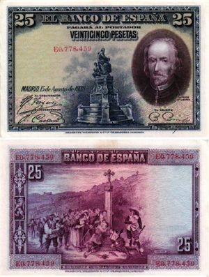 Billet de collection Espagne