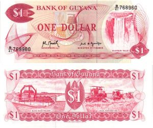 Billet de collection Guyana