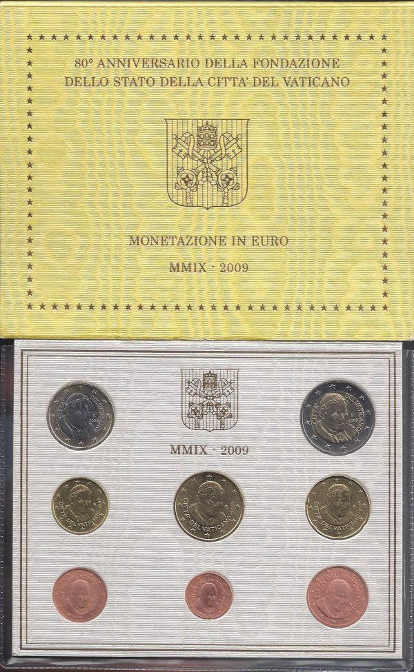 Série Brillant Universel EURO Vatican 2009