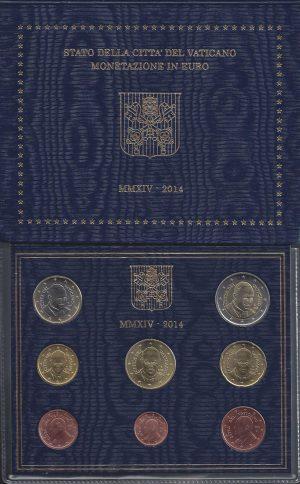 Série Brillant Universel EURO Vatican 2014