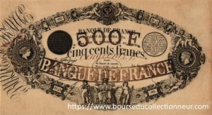 500 Francs Type 1842