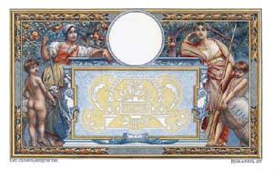 100 Francs LOM de LUC OLIVIER MERSON