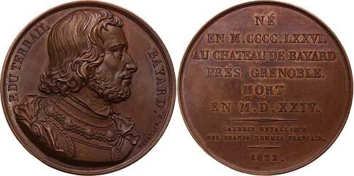 Portrait Bayard du Billet de 20 Francs