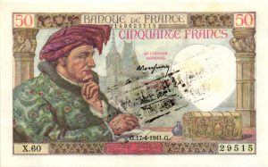 50 FRANCS JACQUES CŒUR