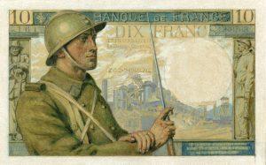 10 Francs Mineur projet