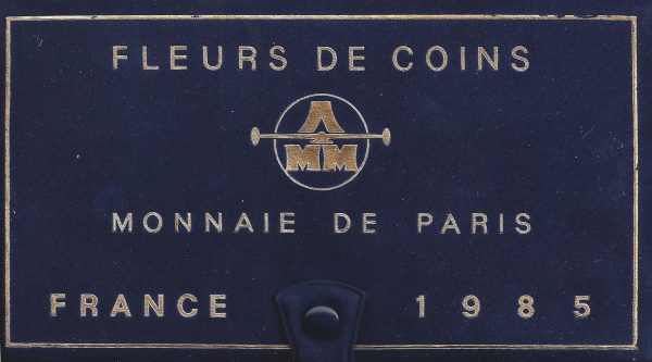 Série Fleurs de coins 1985