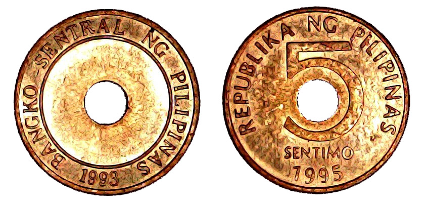 5 sentimo Philippines 1995