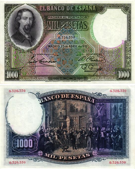 Billet de collection Espagne