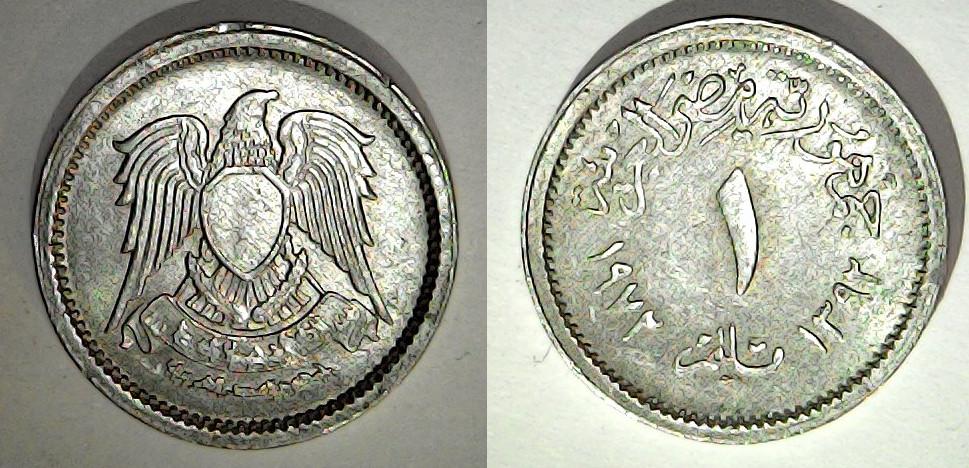1 millième 1972