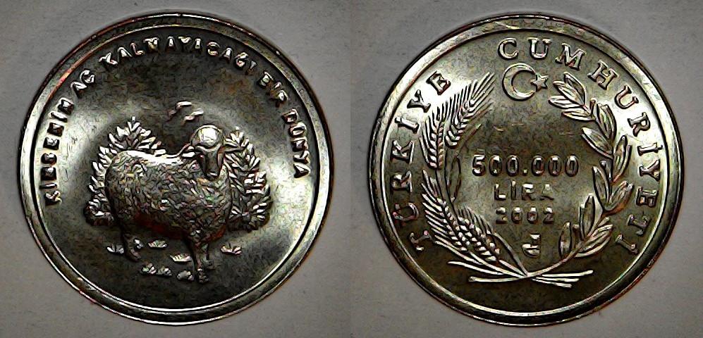 500000 lira 2002