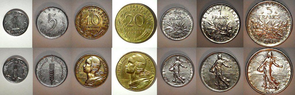 Série Franc 1965