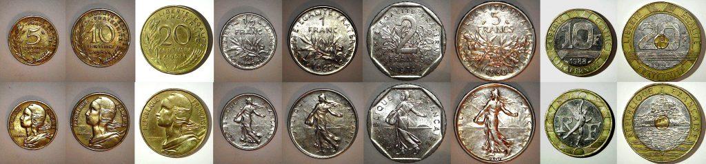 Série Franc 1992