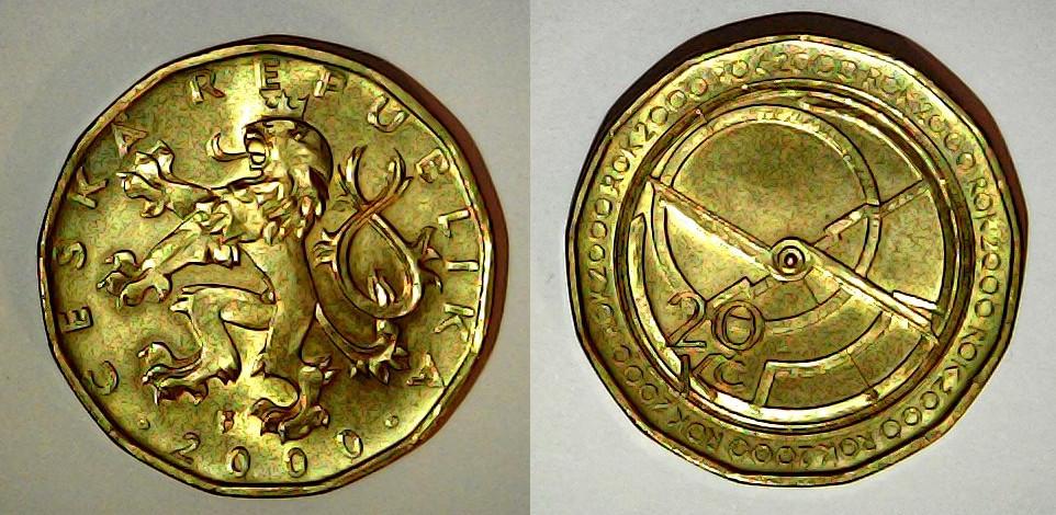 20 Korun République tchèque 2000
