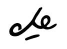 Signature du Che
