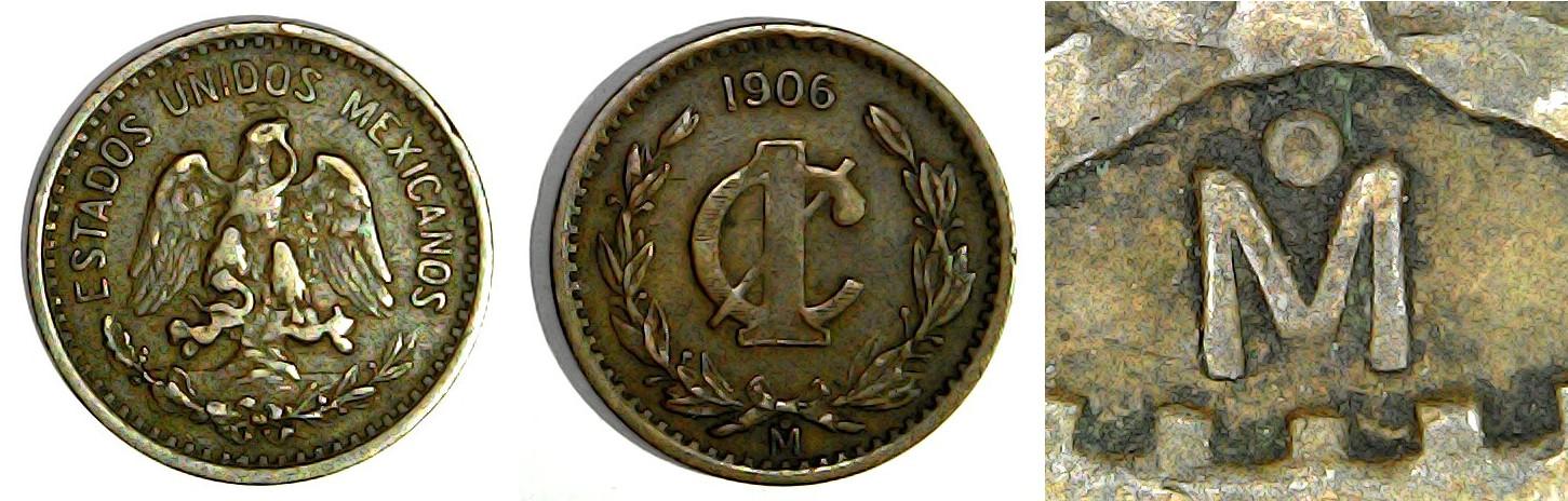 1 centavo 1906 Mexique