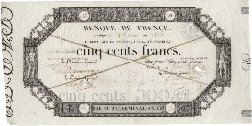 500 Francs Germinal