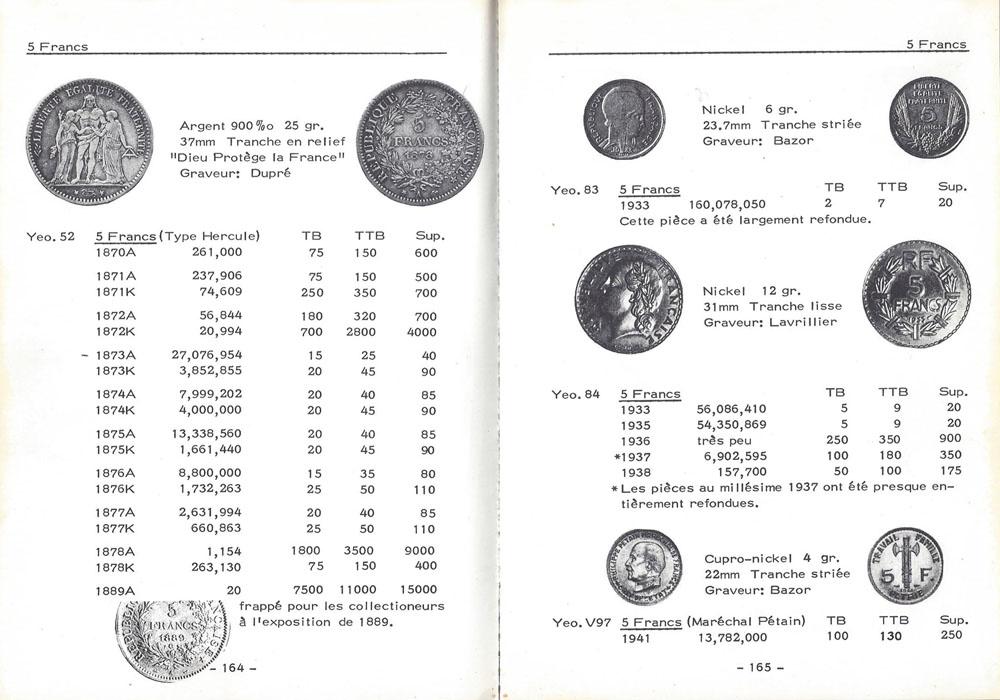 Gadoury Monnaies Françaises