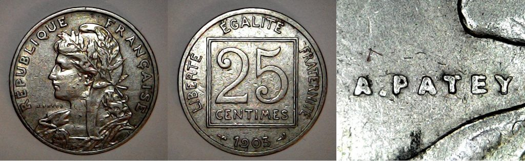 25 centimes France 1903