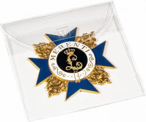 Pochettes de protection pour médailles