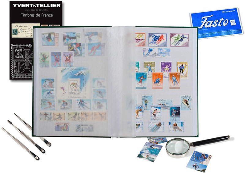 Collectionner les timbres-poste